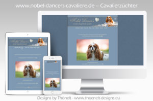 webseite cavaliere2 300x199 - Website-Layouts