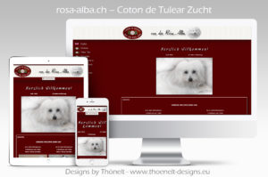 webseite coton de tulear 300x199 - Website-Layouts