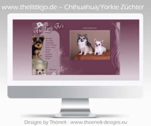 webseite html chihuahua yorkie 300x251 - Website-Layouts