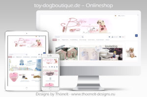 webseite onlineshop toydogboutique 300x199 - Website-Layouts