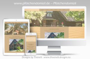webseite pfoetchendomizil 300x199 - Website-Layouts