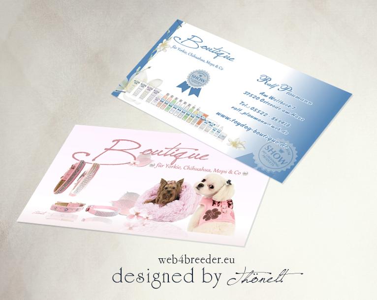 business toy dog boutique - Printgrafiken