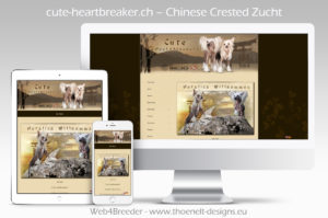 webseite chines cresteds 300x199 - Website-Layouts