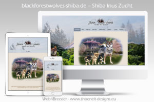 webseite shiba Inu 300x199 - Website-Layouts