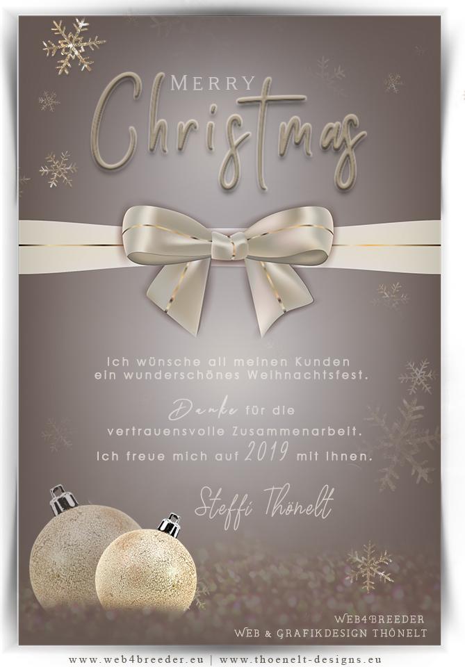 xmas web4breeder - Frohe Weihnachten