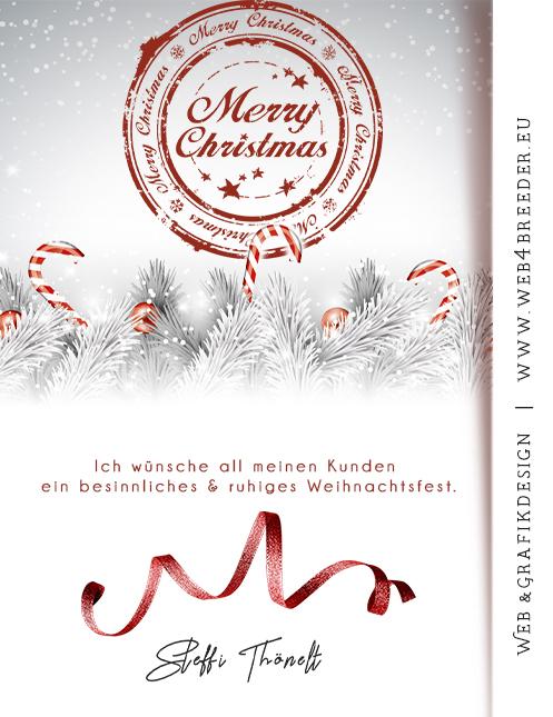 xmas firma - Frohe Weihnachten