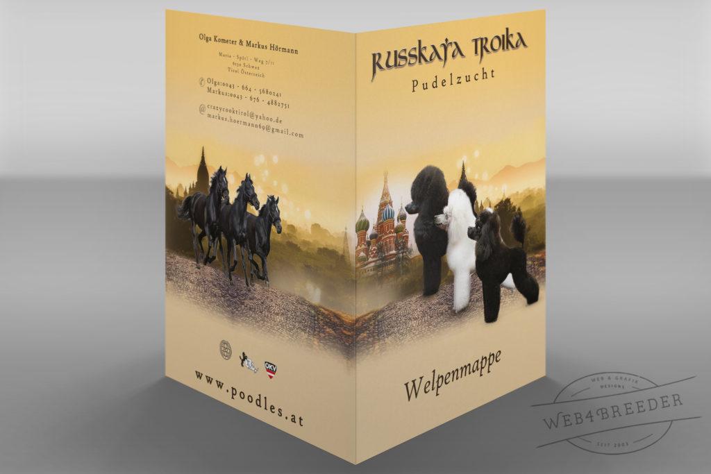 welpenmappe Russkaya Troika Poodles 1024x683 - Printgrafiken