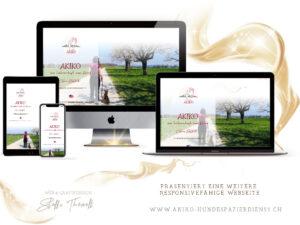 akiko hundespazierservice  300x225 - Website-Layouts