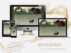 webseite Rauhaarteckel 300x225 - Website-Layouts