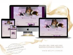 webseite sheltie zucht  300x225 - Website-Layouts